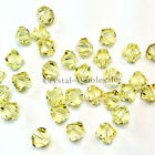 3mm Jonquil (213) Genuine Swarovski crystal 5328 / 5301 Loose Bicone Beads