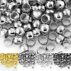 20g 2/2.5/3mm Round Spacer Crimp End Beads Jewelry Making Finding Lots OBSCP