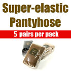 (Free shipping) Super-elastic pantyhose (5 pairs per pack) 3 Colors