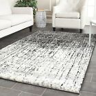 Safavieh Power loomed Retro GREY / BLACK Area Rugs - RET2770-9079
