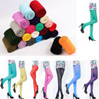Sexy 80D OPAQUE PANTYHOSE Women Lady Long Candy Color Stockings Tights Leggings