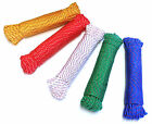 40m x 6mm Multi Purpose Rope - 130ft Strong High Quality Rope - Assorted Colours