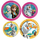 DISNEY FROZEN Princess Birthday Party Tableware Supplies Plate Paper Plates x8