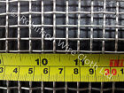 Stainless steel 304 woven 3 mesh, 6.87mm aperture, 1.60mm wire diameter