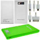 Ultra Slim Portable Charger Power Bank for iPhone iPod 4 5 5S Nokia HTC Samsung