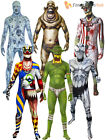 Adult Morphsuit Monster Mens Halloween Robot Zombie Fancy Dress Costumes Party