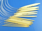 circular bamboo knitting needles  40cm long various sizes from 2mm to 10mm
