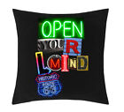 Exclusive - Open Your Mind Sublimation Cushion Cover (C019)