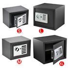 ELECTRONIC DIGITAL SAFE KEYPAD HOME WORK MONEY STEEL SECURITY BOX ELECTRIC 2 KEY