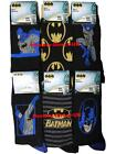 3 Mens Batman 100% Official Cartoon Novelty Character Socks / UK 6-11