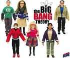 Retro BIG BANG THEORY (Various) Action FIGURE Bif Bang Pow TV Series *NEW*