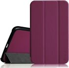 Smart Shell Slim Leather Case Cover For Samsung Galaxy Tab 4 Nook 7-inch Tablet