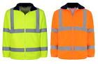 UCI VIZWELL Hi Vis Viz Polar Fleece Bodywamer Jacket - Various Colours & Sizes