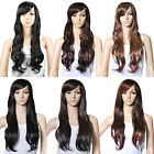27'' UK Top Quality Hair Gorgeous Ladies Long Wavy Curly Full Wig 3 Colors