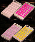 Luxury Rhinestone Bling Diamonds Hard Case Cover For Samsung Galaxy S5 i9600 CSF