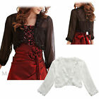 Maggie Tang Top Blouse Wraps Jacket Shawls For Evening Dress Plus Size 6-22