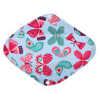 Heavy Flow CHARCOAL Bamboo Cloth Mama Menstrual Pad Reusable Washable 12in Large