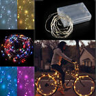 40 LED BATTERY OPERATED SILVER WIRE PARTY XMAS OUTDOOR STRING FAIRY STARRY LIGHT