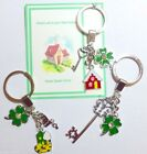 """""""Welcome to your New Home"""" Keyring Gift idea on part completed Gift Card"""