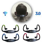 Stereo Wireless Bluetooth Sports Headset Neckband Headphone For Samsung / iPhone