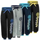 KIDS BOYS GIRLS JOGGING TRACKSUIT BOTTOMS UNIVERSITY PRINT SWEATPANTS SIZE 3-14Y
