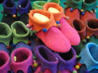 "Hand-made woollen Felt slippers ""SLOOPERS"" size 39-UK 6"