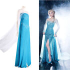 Купить NEW Blue Bling Frozen Queen Elsa Cosplay Adult Sexy Womens Gown Fancy Elsa Dress с доставкой по россии и снг