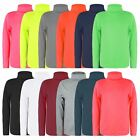 KIDS TURTLENECK LONG SLEEVE PLAIN BASIC TOP GIRLS BOYS JERSEY POLO TOPS 1-14 Y