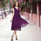 Womens Sexy Party Formal Prom Party Bridesmaid Cocktail Casual Cheap Dress 0279B