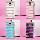 Luxury Bling Crystal Diamonds Clear Case Cover For Samsung Galaxy S5 V i9600 CFZ