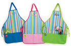 Personalized Adult Size Stripes Kitchen or Gardening Apron 3 Colors Free Ship