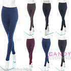 Ladies New Thick Thermal Trousers Leggings Fleece Black Pants Stockings Tight