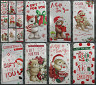 9 Luxury Christmas Money or Gift Card Wallets - Choice of Designs