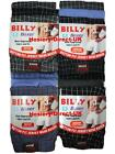 6 Mens Billy Boxer Shorts Jersey Cotton Trunks Briefs Underwear / S M L XL XXL
