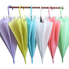 Hot Clear Transparent Handle Rain Umbrella Parasol Dome For Wedding Stage Party