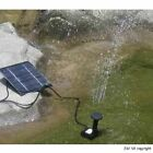 1/2/3/4x Solar Panel Power Pump Garden Pool Feature Spray Water Fountain Pond UK