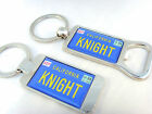 KNIGHT RIDER KITT CAR NUMBER PLATE KEY FOB KEYFOB BOTTLE OPENER GIFT