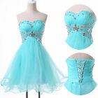 ❤Top Designer ❤ Bridesmaid Prom Dress Formal Short Mini Dresses Party Ball Gowns