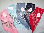 Lined Bandana Headscarf CHOOSE YOUR COLOR Very soft Lining Ships Free to USA!