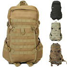"Molle Assault Military Tactical 3 D Day Backpack 38L 14"" Wide Big Hydration Pack"
