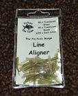 50 x Weed Camo Line Aligner Sleeves Translucent Green,Translucent Brown or Mixed