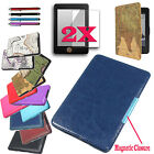 New Smart Ultra Slim Magnetic Case Cover For Kindle Paperwhite +Gift Accessories