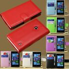 1 Pcs Nice Wallet PU Leather Magnetic Flip Stand Cover Case For Nokia Lumia 520