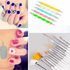 20pcs Dotting Painting Drawing Polish Brush Pen Tools  Design Set Nail Art Care