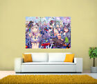 Anime girls, girl room wall decor kids Anime Manga Art GIANT Tiled Print Poster