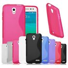 Soft TPU Gel S Line Silicone Rubber Case Cover Skin For Alcatel One Touch Pop S3
