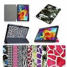Slim Shell Cover Stand PU Leather Case For Samsung Galaxy Tab 4 10.1 SM-T530NU