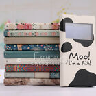 Fashion Watercolor Flip Leather Wallet Case Cover For Sony Xperia Z1 L39h