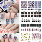 New Fashion Polish Foils Nail Art Decal Wraps Stickers Manicure Decoration DIY