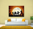 Halloween, Scary, Dead, Moon, Ghost, Zombies GIANT Tiled Art Print Poster 126x89
